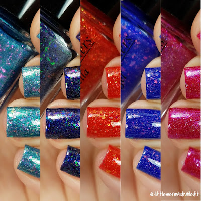 Alchemy Lacquers Star Shards Collection Swatches and Review