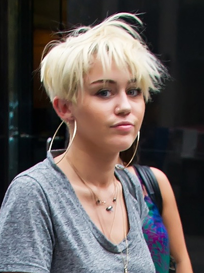 Miley Cyrus Haircut Global Celebrities Blog