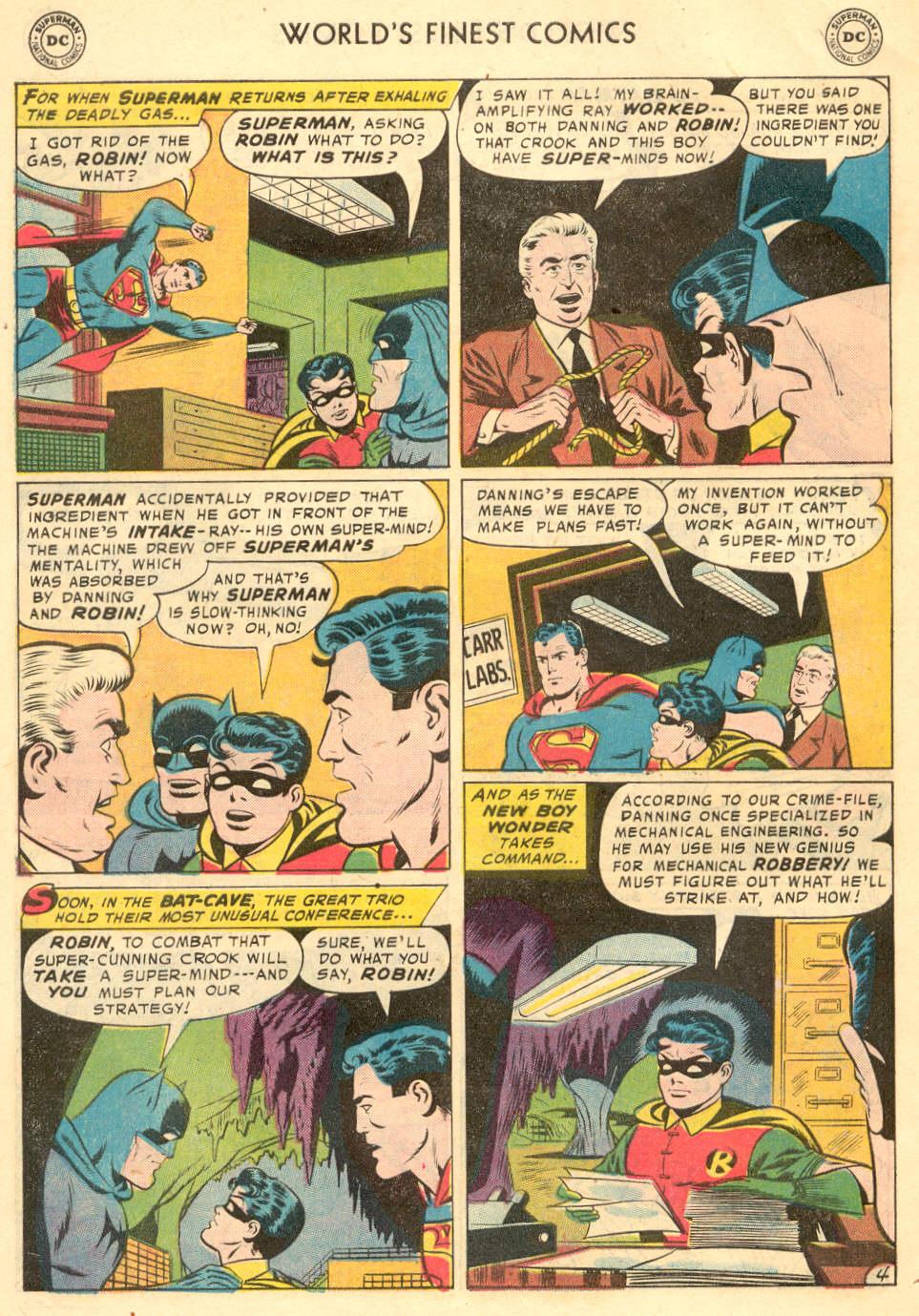 Read online World's Finest Comics comic -  Issue #93 - 6