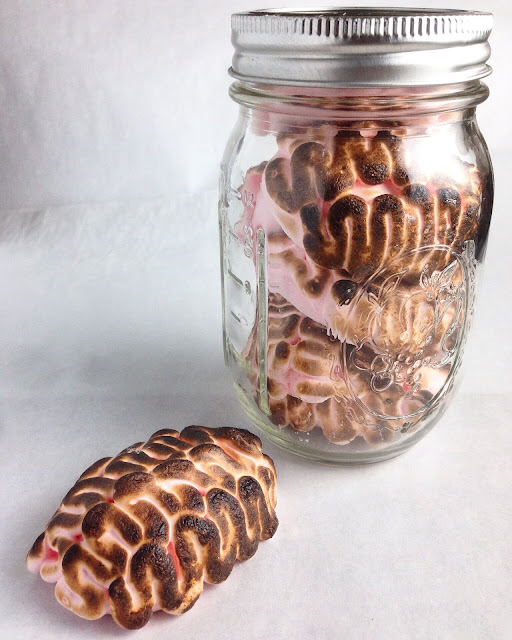 Jar of Toasted Marshmallow Brains