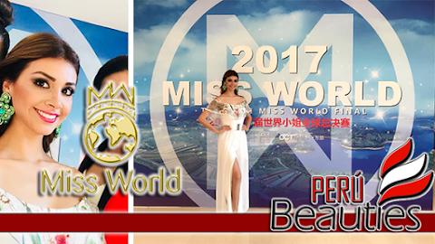 Miss World 2017 | Miss Perú llegó a Sanya, China