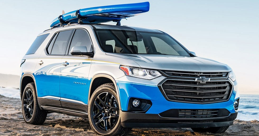 Chevrolet Traverse Sup Concept Revealed Ahead Of Sema