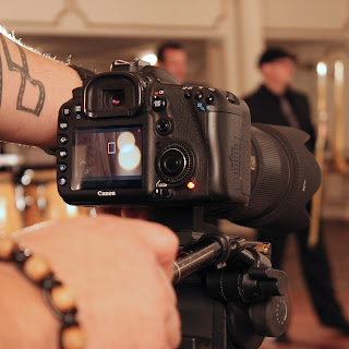 BTS, behind the scenes, tattoo, video production, music video, Canon, Sigma, New Jersey, Robert Michael Productions