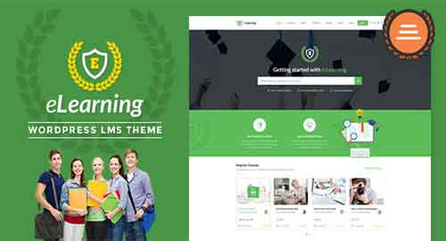 eLearning v2.4 - LMS WordPress Theme