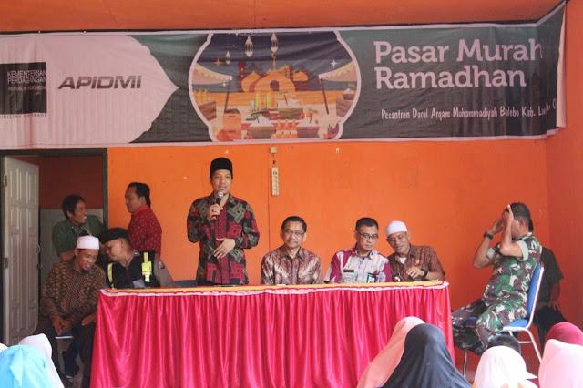 M Rajab Fasilitasi Pasar Murah Kemendag