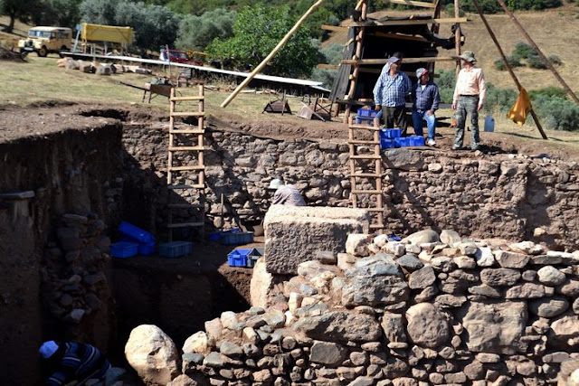 Traces of war found in ancient Lydian city of Sardis