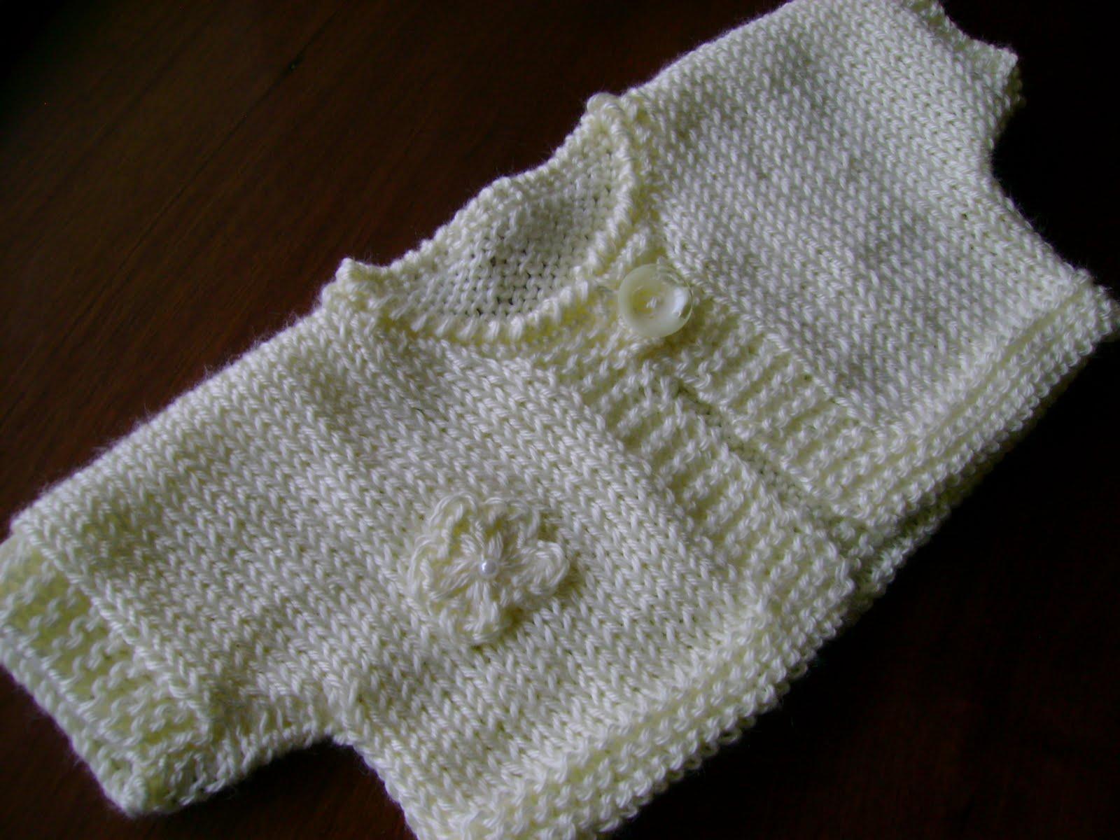 Baby Bolero Knitting Pattern | Patterns Gallery