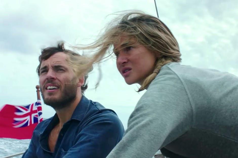 Vidas à Deriva | Shailene Woodley e Sam Claflin no 2º trailer do drama de sobrevivência