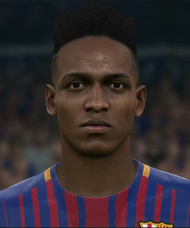 PES 2017 Faces Yerry Mina by Sameh Momen