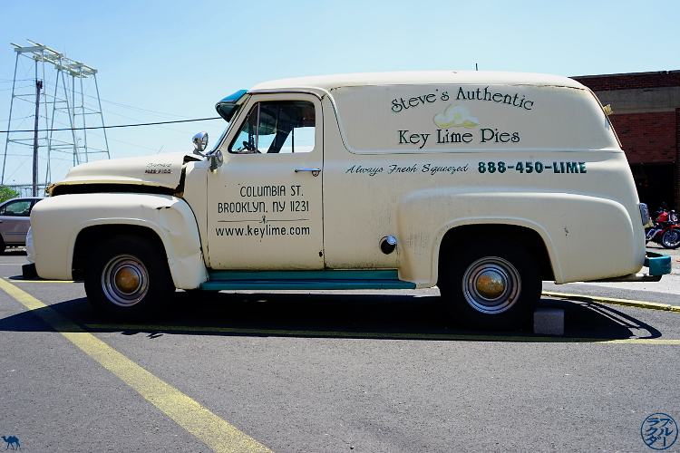 Le Chameau Bleu - Camionnette de Chez Steve's Authentic Key Lime Pies - Red Hook New York