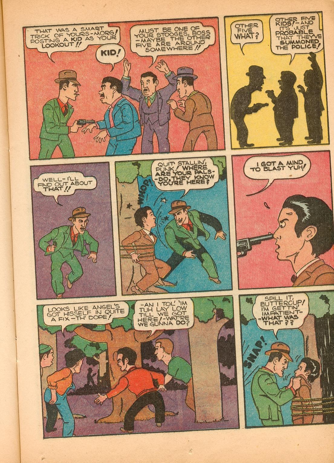 Read online Shadow Comics comic -  Issue #11 - 23