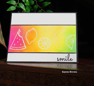 Create a Smile Fruit Salad.