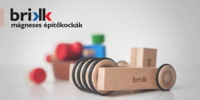 mágneses fakockák, magnetic wooden blocks, brikk, mágneses építőkockák