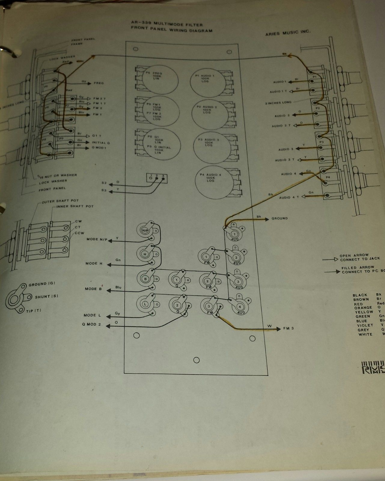 Tremendous Matrixsynth Aries Modular Synthesizer Owners Manual With Blueprints Wiring Cloud Strefoxcilixyz