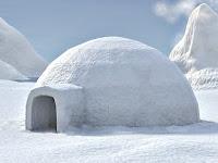 İglu, kardan ve buzdan yapılmış kulübe ev