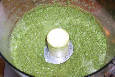 Parsley Garlic and Almond Pesto.
