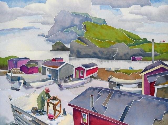 Канадский художник. Barry Coombs 5