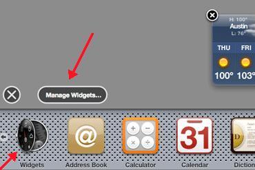 Remove Unwanted Dashboard Widgets