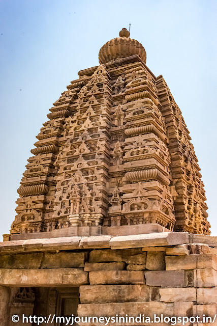Pattadakal Kasi Visvesvara Temple Tower