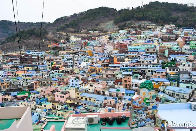 【旅遊。有感】甘川洞文化村:從歷史學習知足常樂。 1