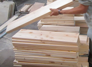 Ứng dụng của tấm gỗ ghép thanh công nghiệp