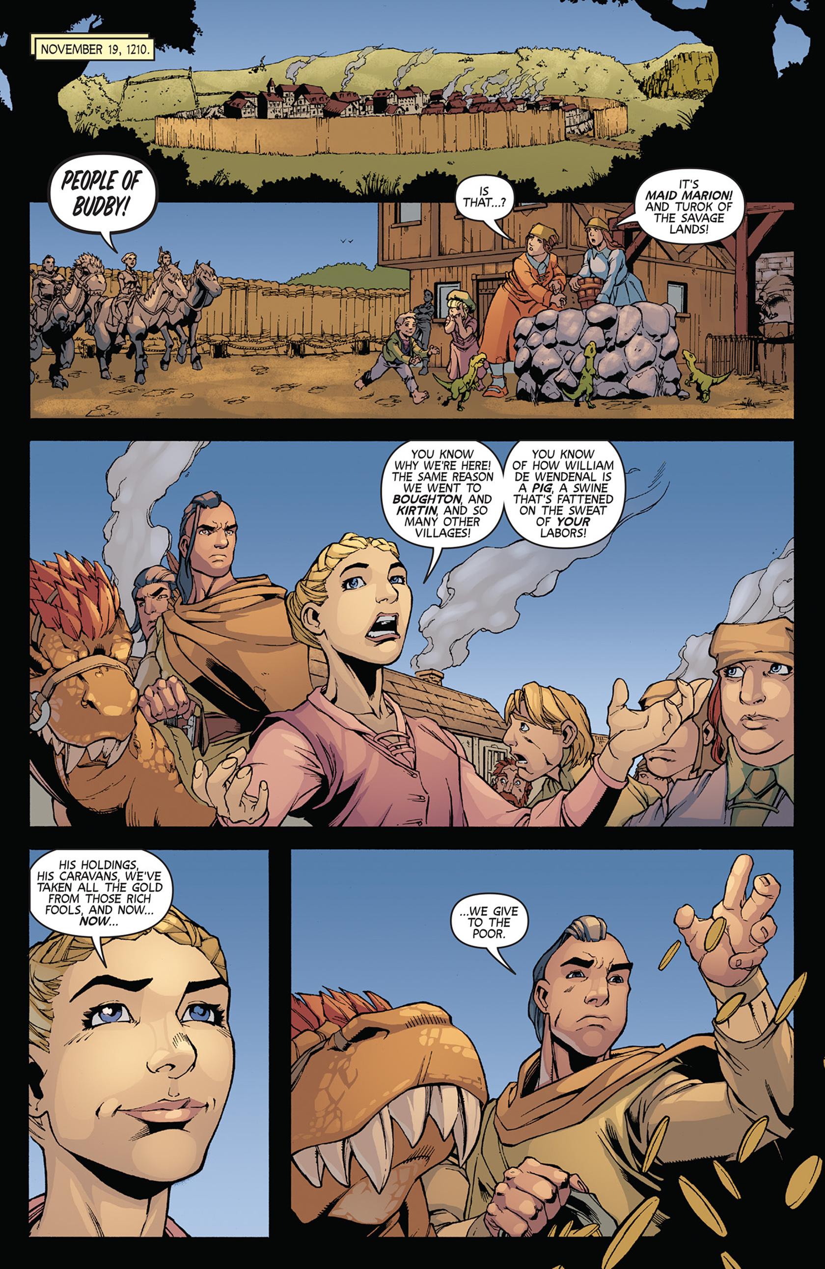 Read online Turok: Dinosaur Hunter (2014) comic -  Issue #11 - 15