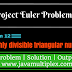 Project Euler | Problem 12 | Highly divisible triangular number