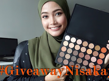 GIVEAWAY | Menangi Eyeshadow Palette Morphe Brushes 35O !