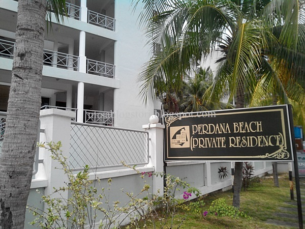 Perdana Beach Private Residence