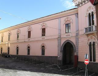 The Palazzo Fortunato in Rionero in Vulture