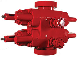BOP stack Blowout preventer