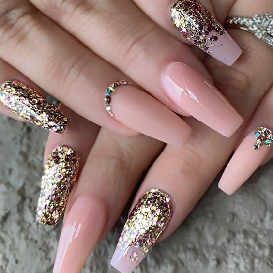 Top 24 Ideas of Luxury Nails To Really Dazzle in 2019   Summer Nail ...