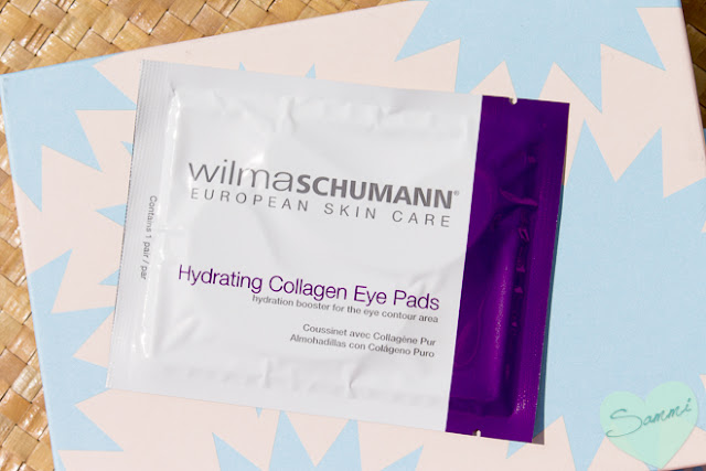 March 2016 Ready for Anything Birchbox review and unboxing - Wilma Schumann Hydrating Collagen Eye Pads