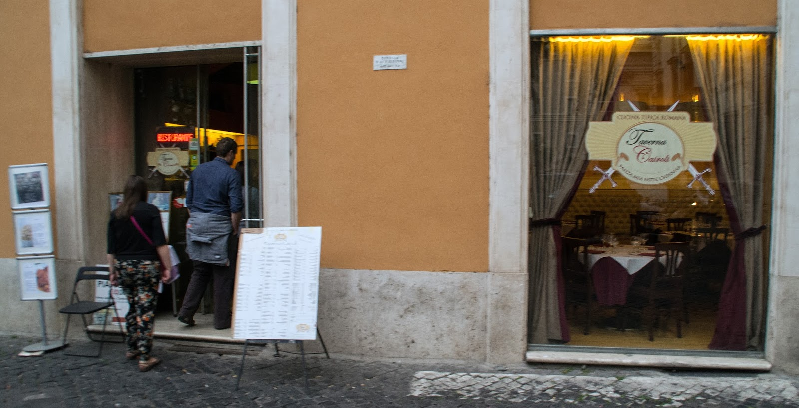 Dinner on Secret Food Tour Rome
