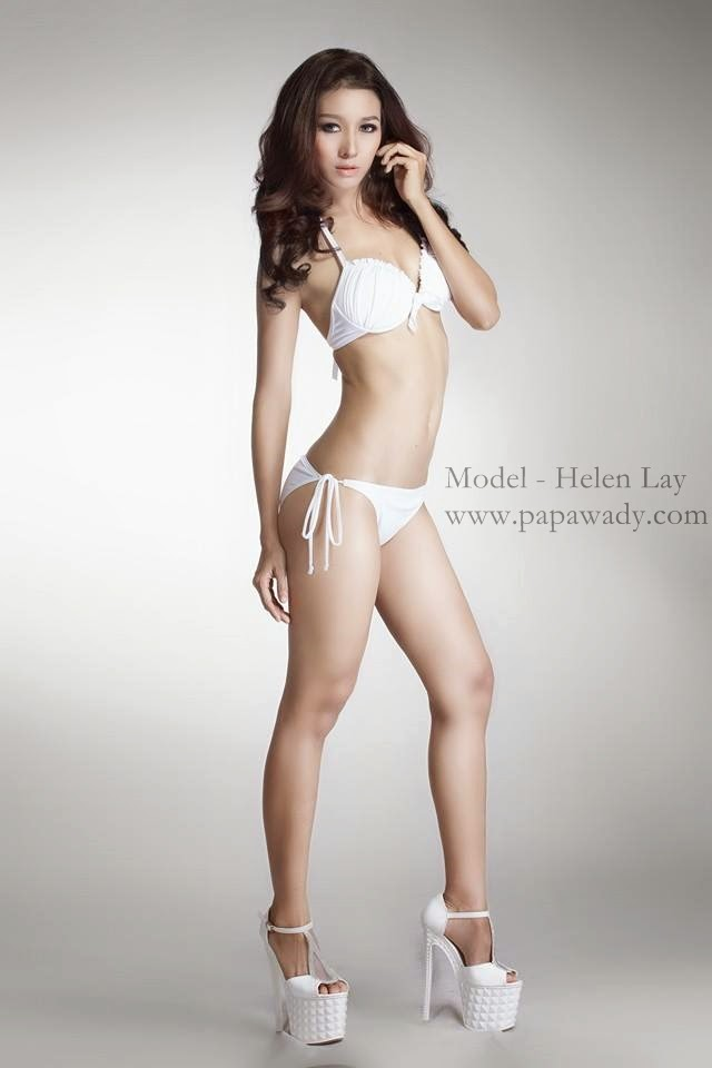 Helen Myo Lay - Face of Beauty International 2014 Myanmar