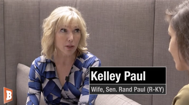 Watch – Rand Paul's Wife: I Sleep with a Loaded Gun Thanks to Leftists' Threats