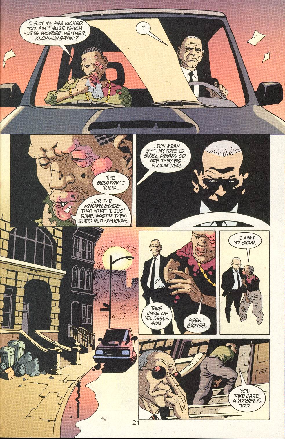 Read online 100 Bullets comic -  Issue #18 - 23