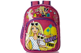 Barbie Children's Backpack For Rs 299 (Mrp 599) Amazon