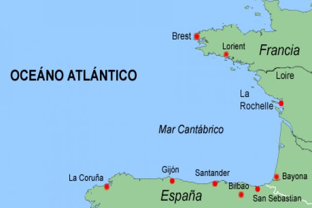 Golfo De Vizcaya Mapa.Golfo De Vizcaya Mapa Mapa