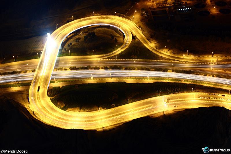 عکس تهران از بالای برج میلاد