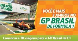 Cadastrar Promoção Petrobras Tem Brasil Grid Ingressos GP do Brasil