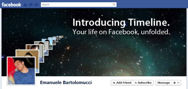 Sample of Facebook Timeline Covers Collection in PSD Template Said