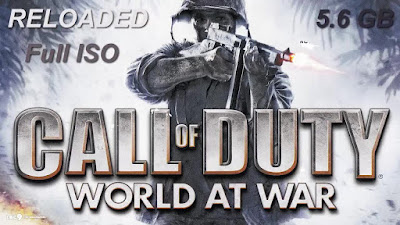 Free Download Game Call of Duty 5: World at War Pc Full Version – Reloaded Version – Full ISO – Direct Link – Torrent Link – Multi Links 2015 – 5.6 GB – Working 100% .
