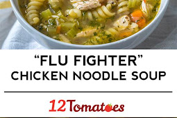 Flu Fighting Chicken Noodle Soup