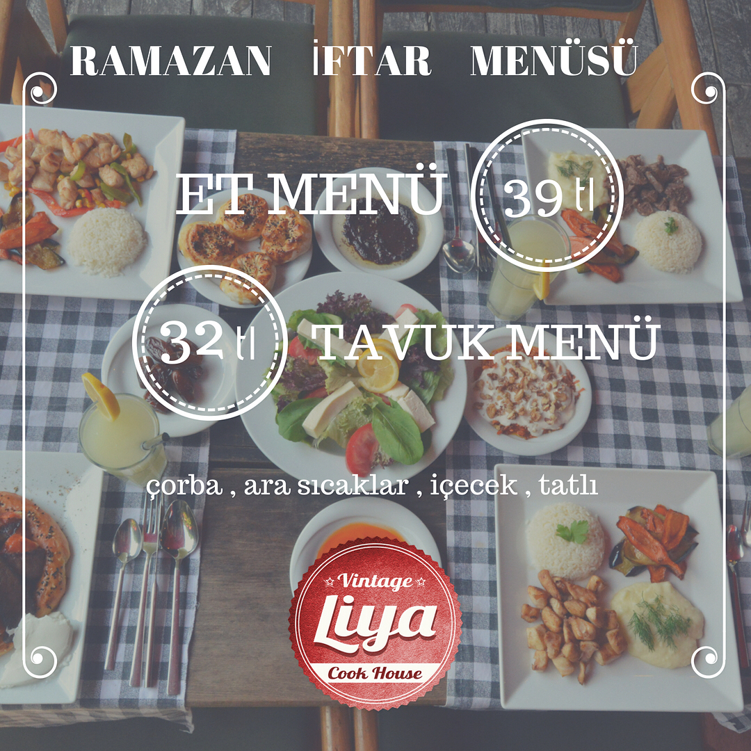 vintage-liya-cook-house-adapazari-sakarya iftar menu