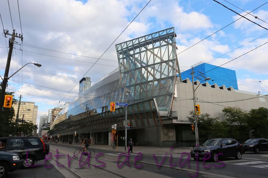 Galería De Arte De Ontario En Toronto: Letras De Viajes: Canadá