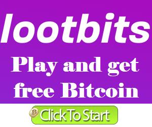 اربح بيتكوين مجانا مع Lootbits و50 نقطه مجانيه للاعضاء الجدد