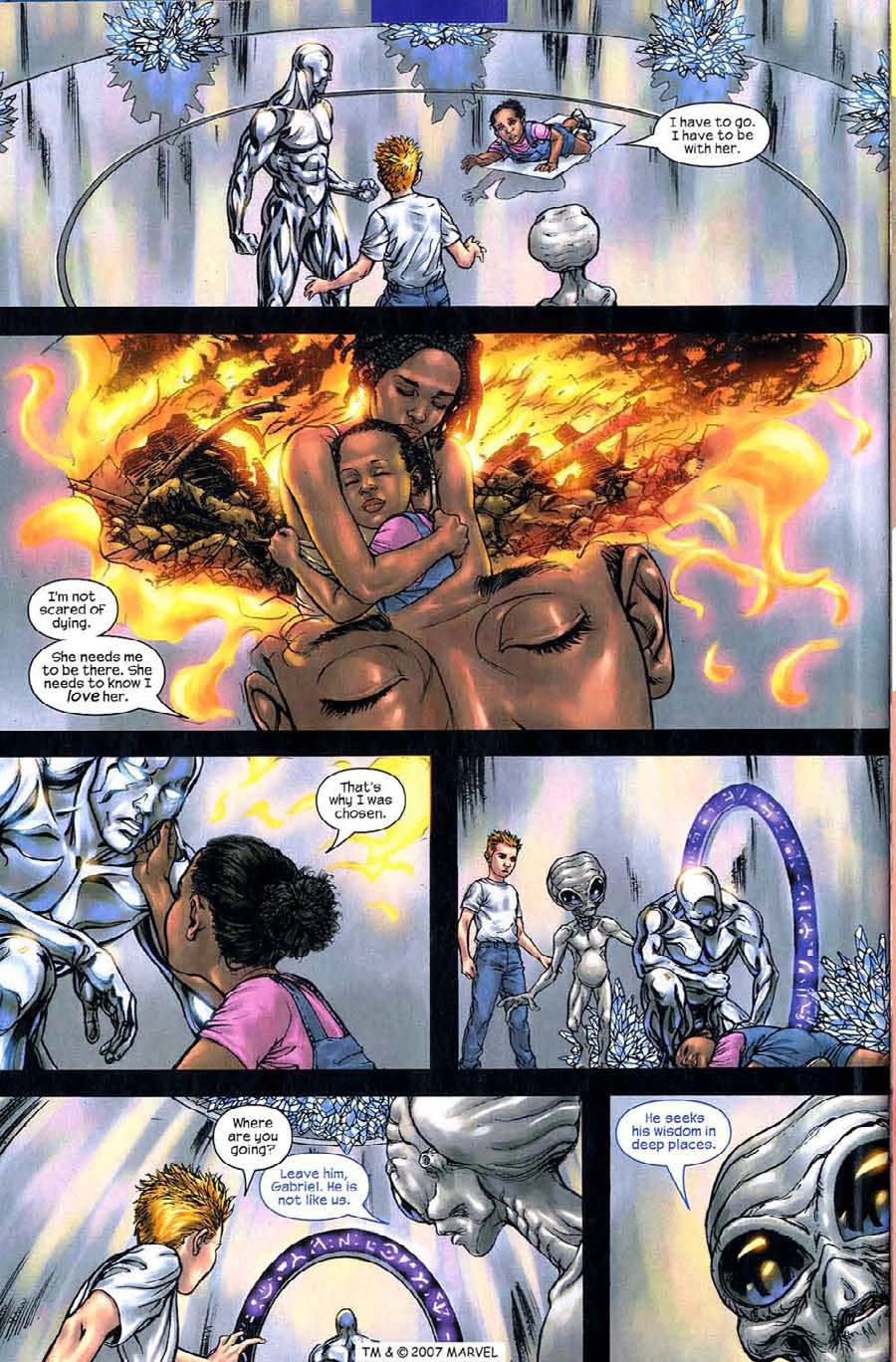 Read online Silver Surfer (2003) comic -  Issue #5 - 30