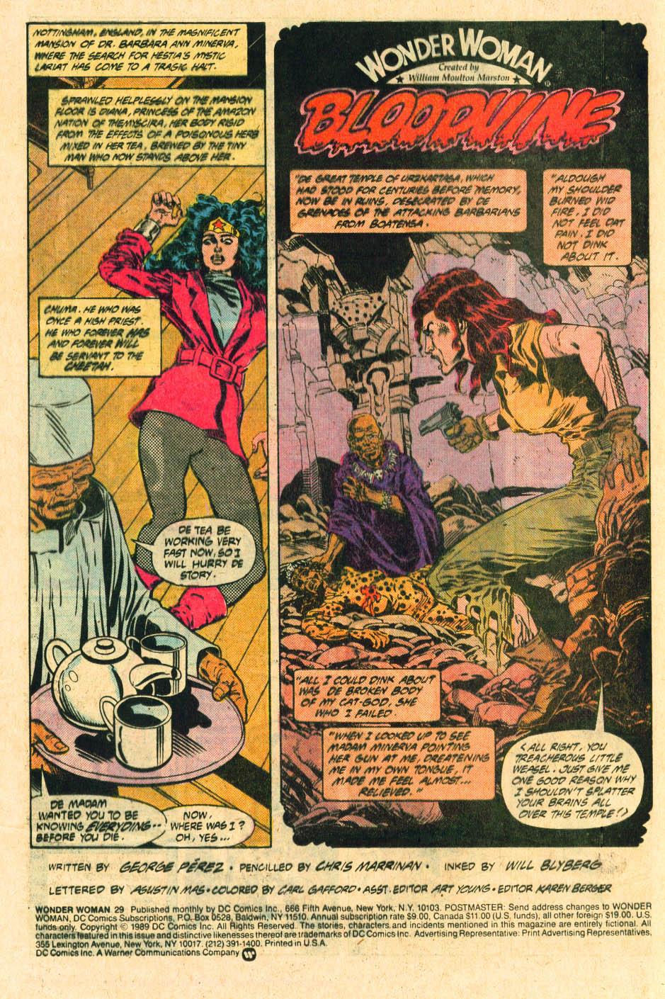 Read online Wonder Woman (1987) comic -  Issue #29 - 4