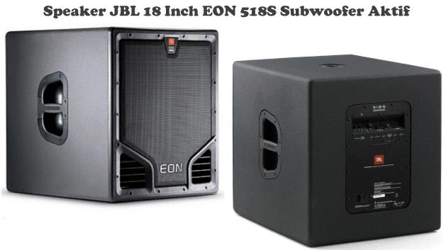 Harga Speaker JBL 18 Inch-EON 518S Subwoofer